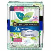 Laurier Beauty Style Прокладки ежедневные с ионами серебра, с ароматом луговых трав, 62 шт