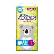 Joonies (L) Comfort Подгузники-Трусики  9-14 кг, 44 шт