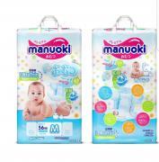 Manuoki (M) Подгузники 6-11 кг, 56 шт