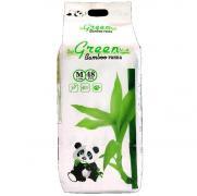 Green Bamboo Panda (M) белая Подгузники-трусики 7-12 кг, 48 шт