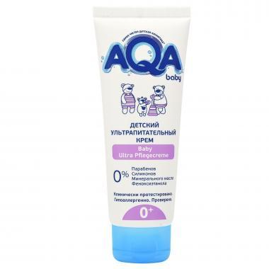 AQA baby Крем ультрапитательный детский 75мл