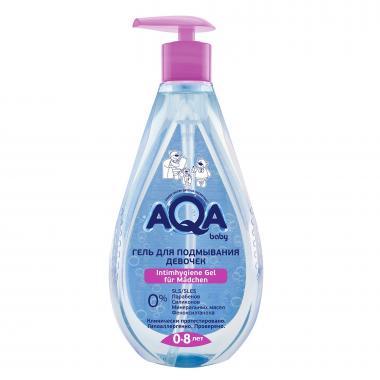 AQA baby Гель для подмывания девочек 250 мл
