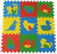 Животные мягкий пол универсальный 33х33