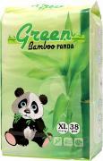 Green Bamboo Panda (XL) трусики 12-17 кг 38 шт