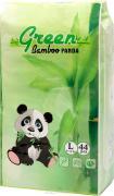 Green Bamboo Panda (L) трусики 9-14 кг 44 шт