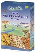 """Флер Альпин - каша молочная Органик """"Альпийский вечер"""", с 6 мес. 200 г"""