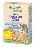 Флёр Альпин - каша молочная Органик овсяная с грушей, 5 мес., 200 гр.
