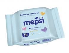 MEPSI Влажные салфетки детские 20 шт